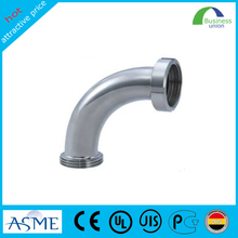 alloy stainless steel pipe fitting for water supply elbow