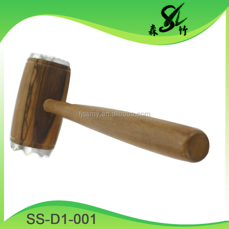 Stainless Steel Professional Steak & Chicken & Pork & Veal & Beaf Mallet, Meat Tenderizer Hammer / Pounder, Meat & Poultry Tools