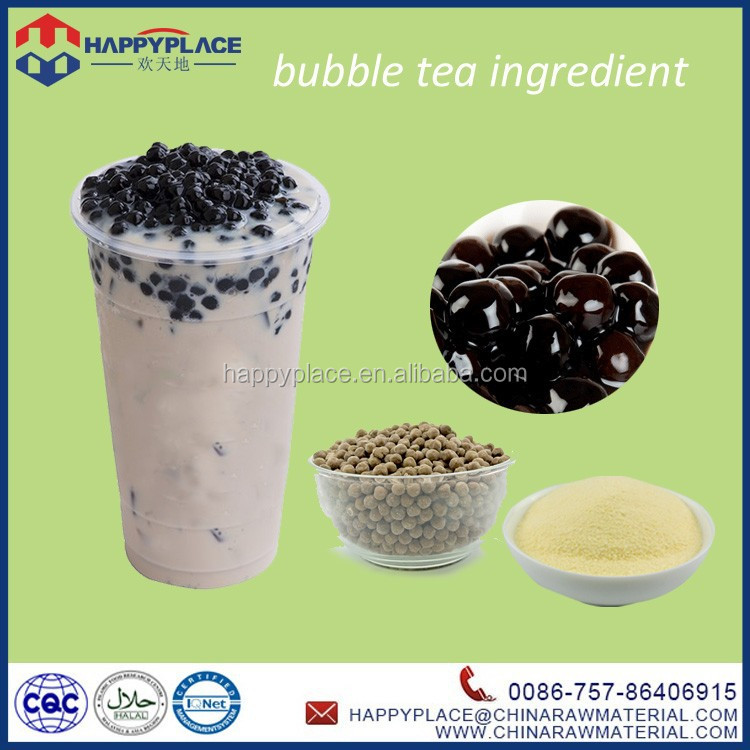 bubble tea supplies wholesale, colorful tapioca pearl, blueberry juice ball popping boba