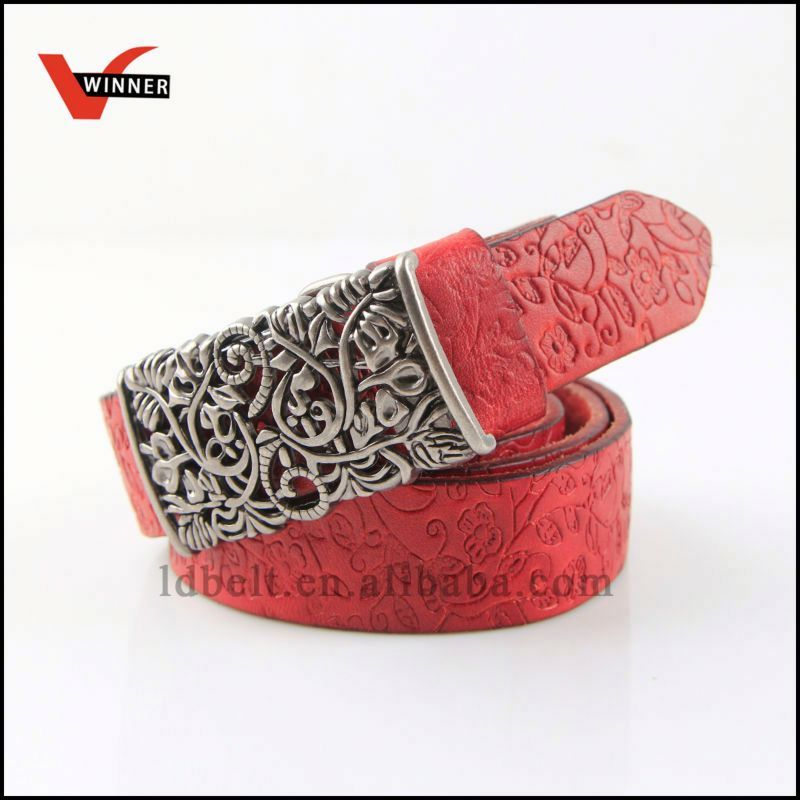 Attractive Special raw hide leather belts