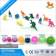 PVC small dinosuar collection capsule toy/ PVC figurines toy capsule /dinosaur capsule toy