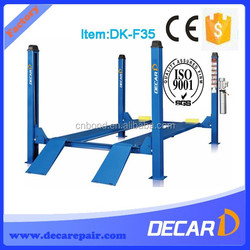 Cheap price china used 4 post car lift for sale