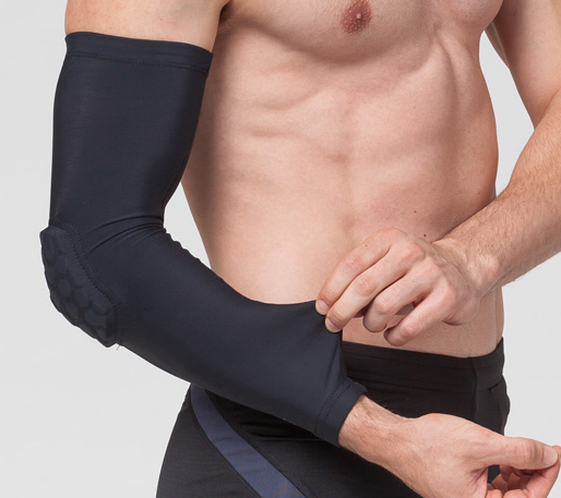orthopedic adjustable neoprene protective elbow support brace for sale