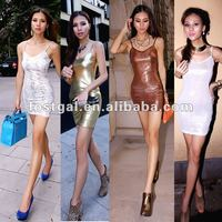 2012 summer wear women's best-selling new Europe and America B215 nightclub deep V sexy hot hip dress