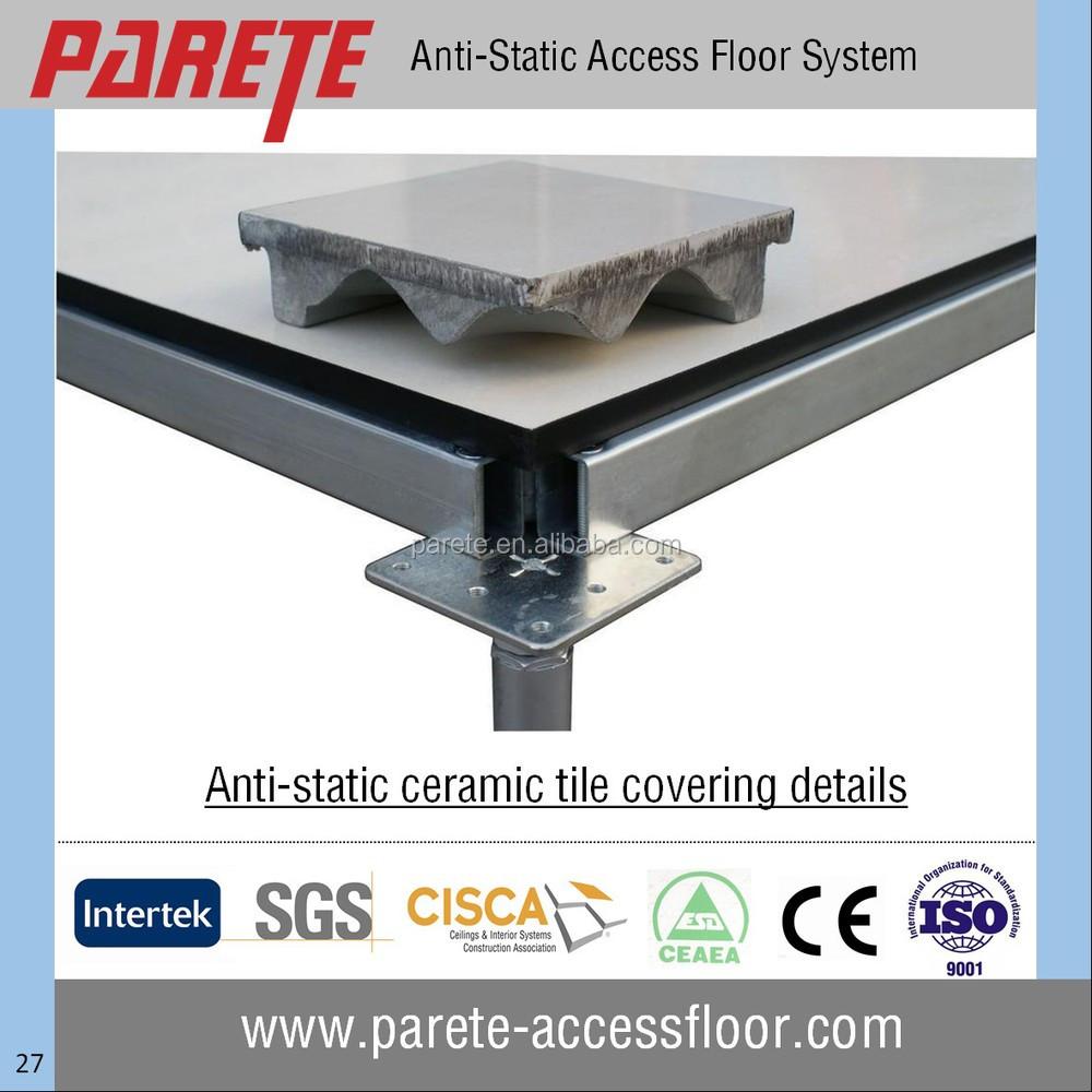 Anti Static Flooring Service : Ceramic finish steel anti static raised floor buy