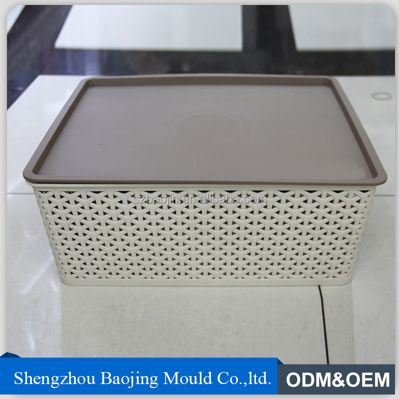 HOT SALE PP Eco-friendly Multilayer Plastic storage box with lid