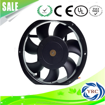 High Quality 17251 Ball Bearing or Sleeve Bearing 12 volt 172*150*51 mm 170 mm DC Cooling Fan