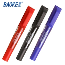 OEM Two tips permanent marker pen , non toxic permanent indelible ink marker pen