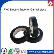 Environmentally friendly lead-free flame retarda insulation Black 0.13mm ,0.18mm PVC Electric tape for car wireless