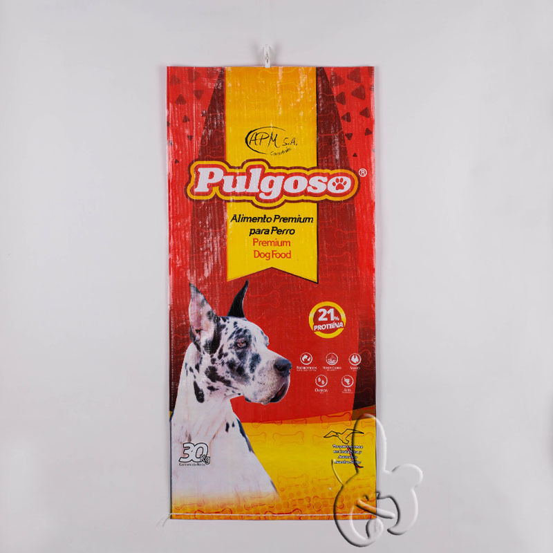bopp laminated pp woven packaging bags for millet,rice,food,fertilizer,cement,seed