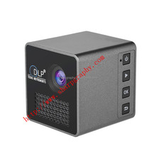 New Arrival!!!!UNIC Full HD 3D 1080P LED DLP UV Hindi Smart Portable Video Battery Powered Mini P1 Projector