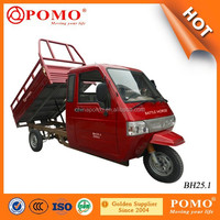 China Most Popular Motorized 250CC Water Cooled Cargo Tricycle With Full Closed Driver Cabin