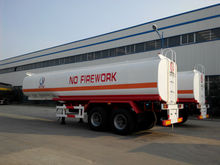 2 axles fuel full tank trailer, tanker full trailer