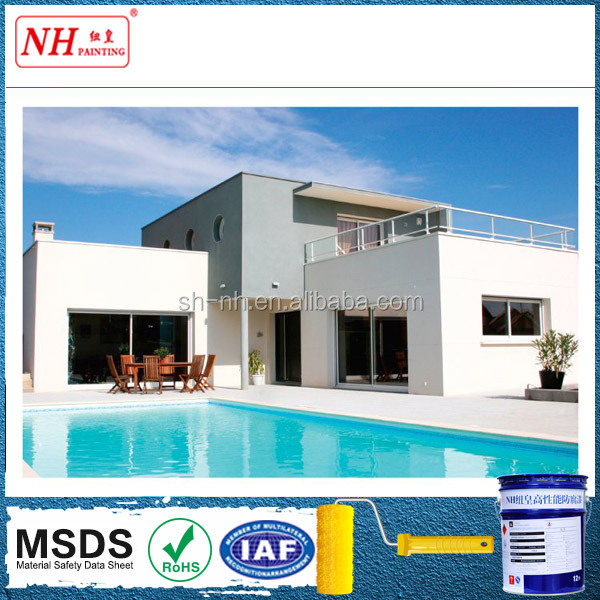 Water-based weather resistance external wall paint