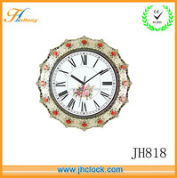 Oval Diamond Wall Clock