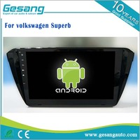 Car Stereo, Auto radio Android 6.0 car dvd player for Volkswagen Superb with bluetooth 3g wifi Steering Wheel Control