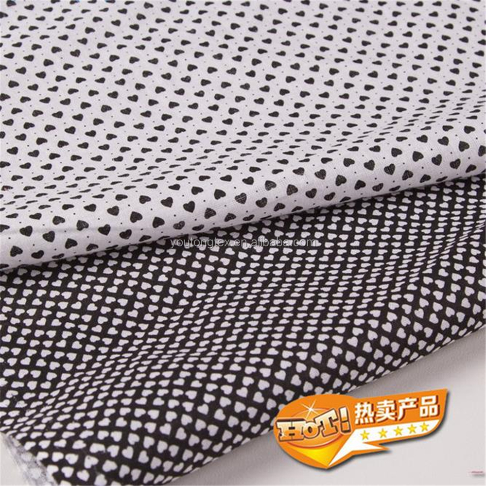 poplin printed 100% cotton fabric for shirt