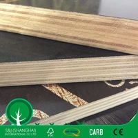 Hot Selling 15mm Black/Brown/Red Film-Faced Plywood