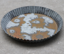 clearly decorative metal storage serving egg tray