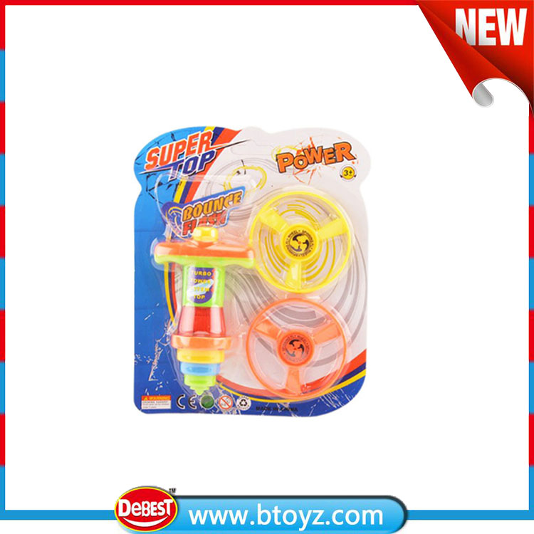 Supper powder kid toys flashing beyblade spinning top with lights