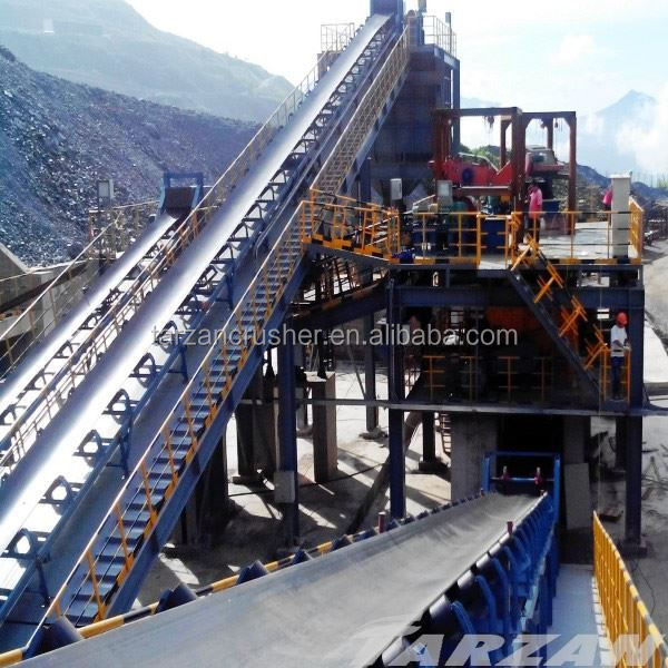 Good comment concrete belt conveyor from Tarzan machinery