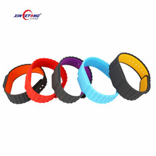 13.56mhz NFC RFID Silicon Bracelet With Factory Price