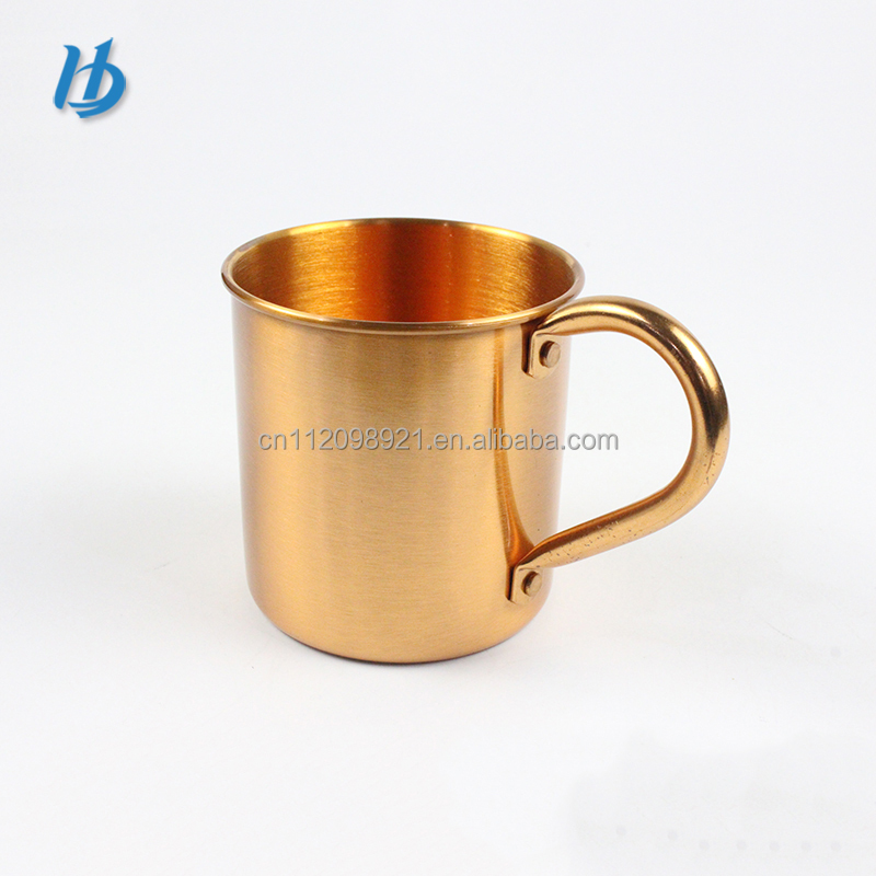 2016 New Product Solid Copper Moscow Mule Mug/100% Pure Copper Cups/ coffee beer mug