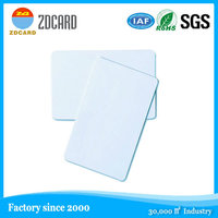 Personal design blank nfc pvc cards for all smart phone
