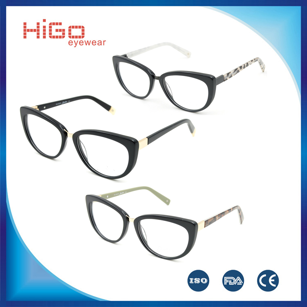 LATEST FAHION ACETATE EYEGLASSES BRAND DESIGNER SPECTACLE HIGH QUALITY EYEWEAR WOMEN OPTICAL FRAME