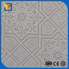 decoration gypsum ceiling board vinyl faced ceiling tile