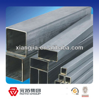 Factory price weight of gi square pipe for sale in China