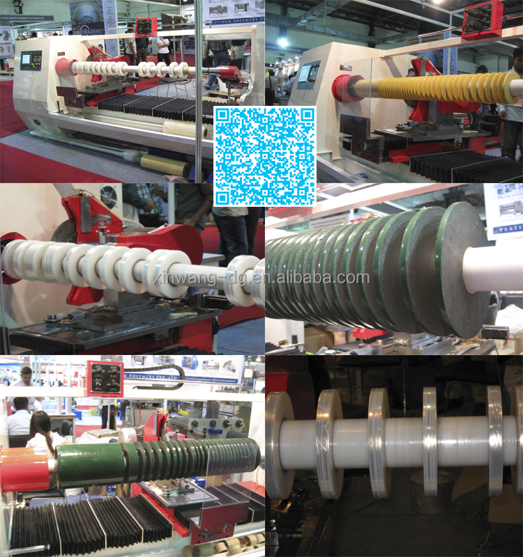 EVA and PVC Tape or FIilm Roll Cutting Machine Series