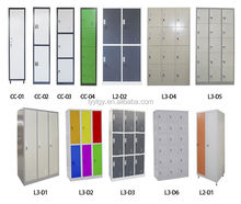 good price knock down sructure metal clothes locker/steel GYM lockers/5 doocompartment steel lockerr