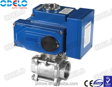3PC Electric Ball Vavle,Electric Actuators