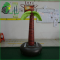 Guangzhou Christmas Tree / Custom Pool Float Island Inflatable Palm Tree for Display