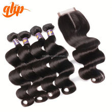 raw unprocessed virgin body wave two tone human dropshipping 5a grade 100% unprocessed indian hair lace front closures