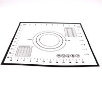 "Silicone Baking Mat - for Lining Pastry Pans - Non ick Surface Sheet Makes Baking Easy 16-1/2""x24-1/2"" Food Plate"