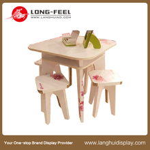 new design cardboard Furniture, paper desk display