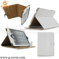 Elegant book leather case for ipad mini