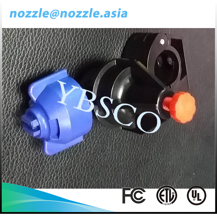 Quick Connect Low Pressure Eductor Plastic Venturi Nozzles
