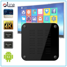 High quality Amlogic S905 cpu 8GB emmc rom t95m set top box box to see tv free