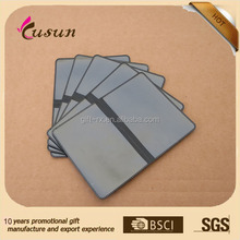 2015 Professional Manufactory PVC Plastic Folding Business Card Holder In China