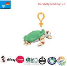 plush animal toy key ring/ plush toy tortoise keychain for promotions