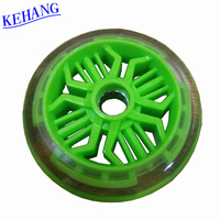Factory wholesale inline skate wheel high rebound five stars caster wheel skate board PU wheel roller ski