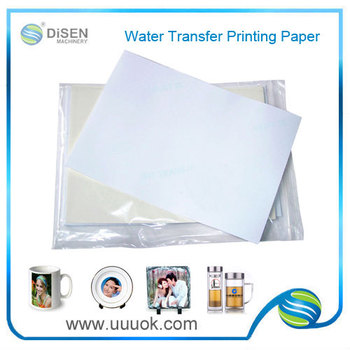 water slide transfer paper Complete range of waterslide decal paper available for laser and inkjet printers including the specialist blue back decal sheets and our new universal water transfer.