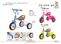 2016 hot model children bike tricycle kids with 3 EVA wheels for best quality and low price