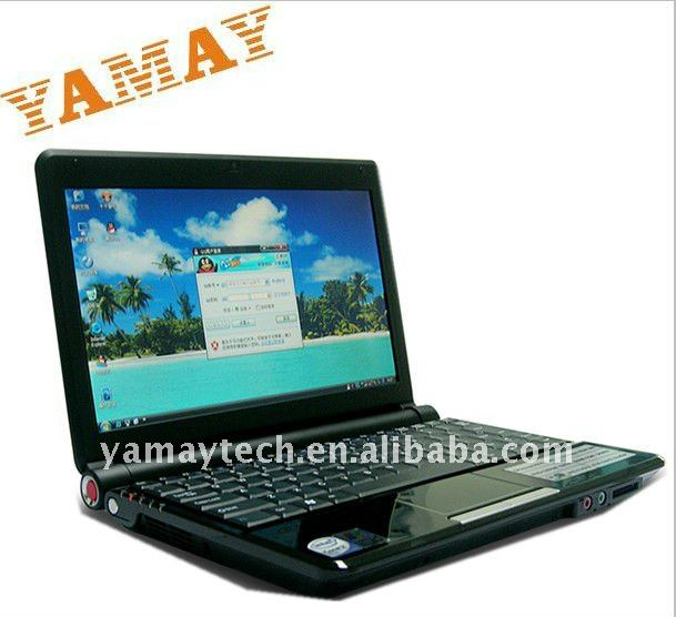 10.2inch windows 7 OS Intel atom D2550 dual core China <strong>laptop</strong>