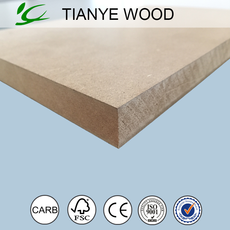 25mm thick mdf board production from TIANYE Co.,Ltd. Biggest wooden board company in huadong area
