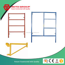 Tianjin Factory Supply S-style 2'x6'4'' 2'x5'' Narrow Frame Type Scaffolding Construction Materials SGS Test