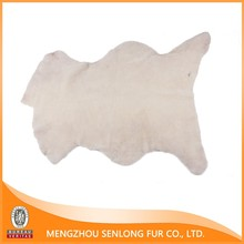 Real Shoe Lining Sheep Fur Hides And Skins Supplier